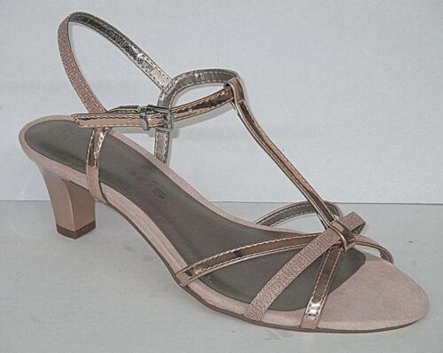 Chic  Gr Rose-Met//Glam Tamaris Damen Sandalette 35-40 ++NEU+++