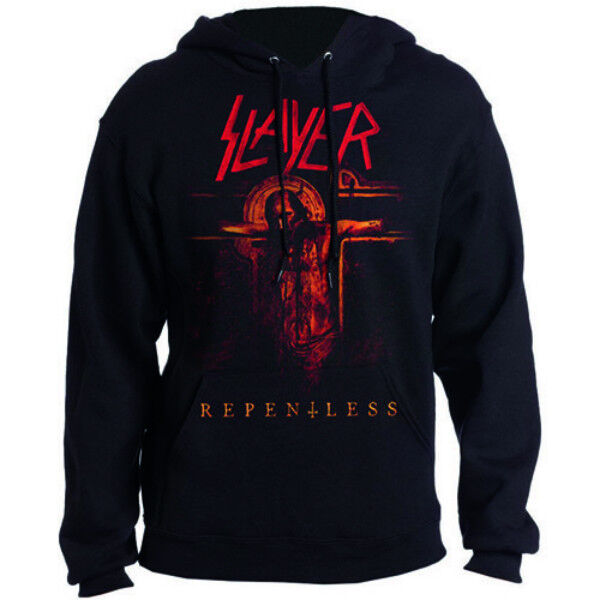 Slayer 'Repentless Crucifix' Pull Over Hoodie  - NEW & OFFICIAL
