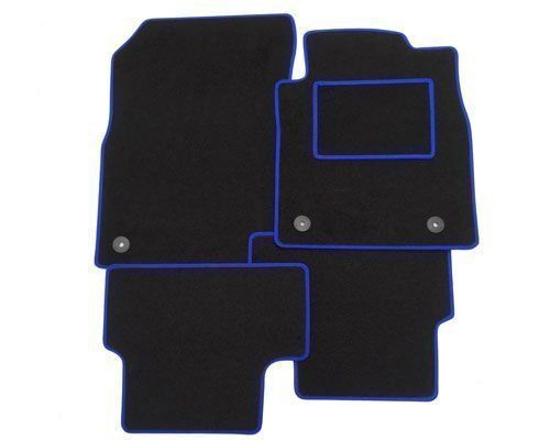 HONDA CIVIC CLIPS Tailored Car Floor Mats  BLUE  TRIM EDGE 2006-2008