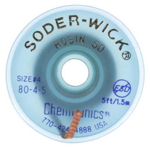 80-4-5, 80-04-05 SODER WICK SW18045 Entlötlitze 2,8mm x 1,5 M