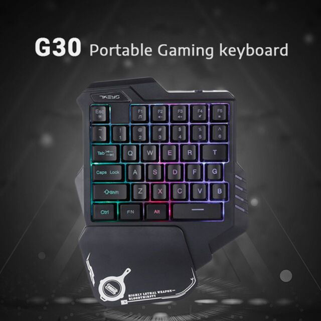 Gaming Mechanical One-handed Keyboard Hand Game Left Hand Game Keypad