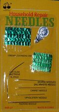 27Pc Sewing needles assorted household repair set threader, darning upholstery