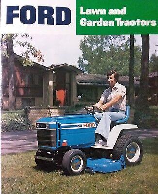 [SCHEMATICS_48IU]  Ford LGT 100 120 125 145 165 Lawn Garden Tractor Color Sales Brochure Manual  '78   eBay   Ford Lgt 145 Tractor Wiring Diagram      eBay