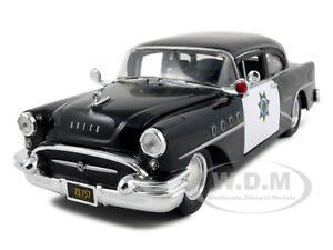 1955-BUICK-CENTURY-POLICE-1-26-DIECAST-MODEL-CAR-BY-MAISTO-31295