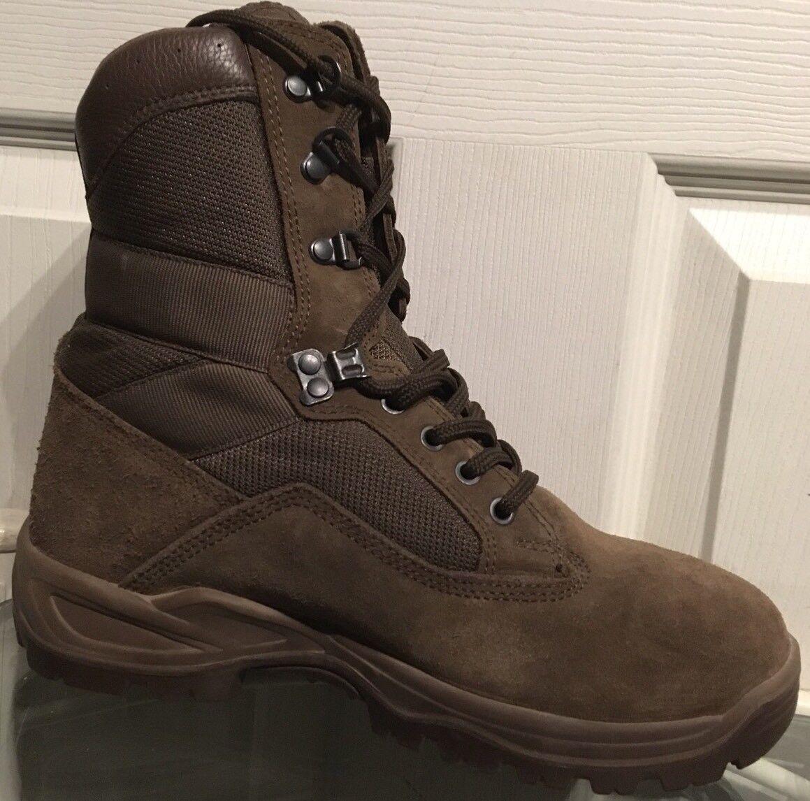 YDS Falcon Army Issue Braun Braun Issue Suede MTP Female Combat/Assault Stiefel 6M YDF26M 593873