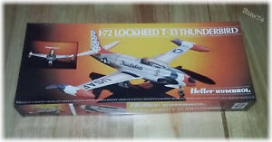 Heller-Humbrol-Lockheed-T-33-Thunderbird-Shooting-Star-1-72-Model-Kit-80301