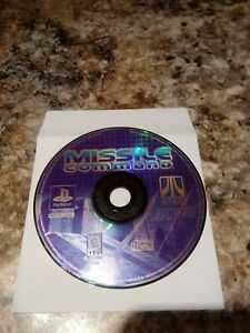 🔥 SONY PS1 PlayStation One PSX 💯 WORKING GAME DISC ONLY 🔥MISSILE COMMAND