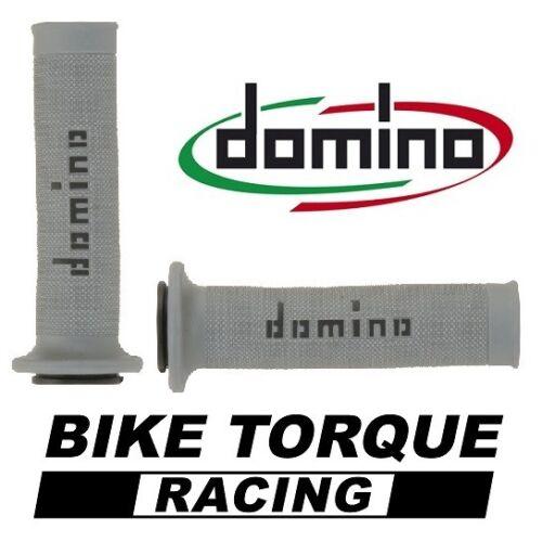 Aprilia 650 Moto  Grey /& Black Domino RR Diamond Handle Bar Grips