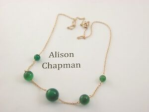 Antique-16-034-5-graduated-green-bead-necklace