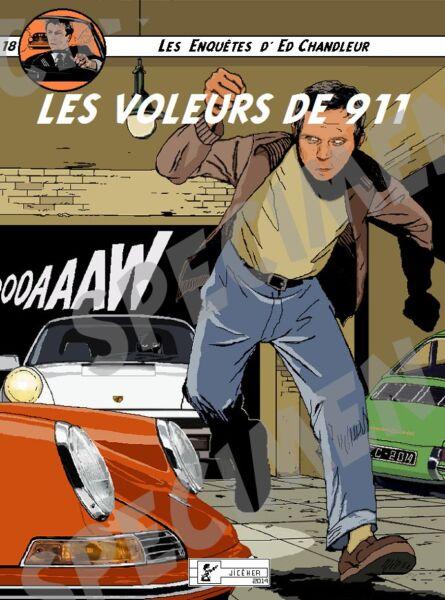 """""""les Voleurs De 911"""" Dessin (7 Ex Disponibles) Porsche 911 Par Jiceher Doux Et Doux"""