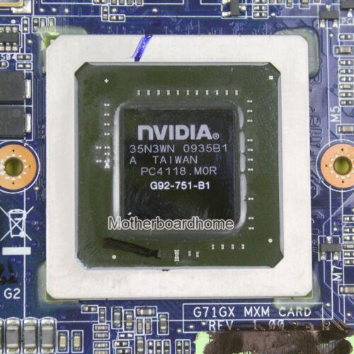 For ASUS G71G G71GX G72GX VGA Graphic Card 60-NVZVG1000-A02 GTX260M MXM Test