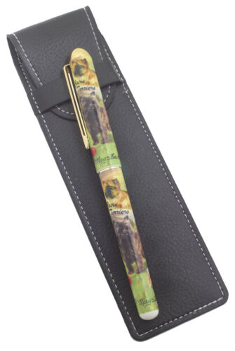 Cairn Terrier Breed of Dog Themed Pen with Pen Case Perfect Gift