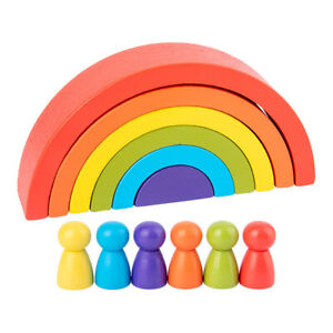 1-Set-Rainbow-Arch-Building-Block-Toys-Puzzle-Stacking-Brick-for-Children