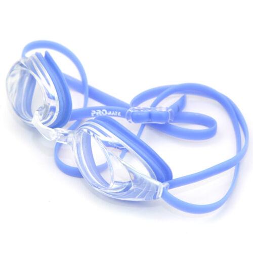 Promate Rx Prescription Nearsighted Optical Swimming Goggle Anti-Fog /& UV Block