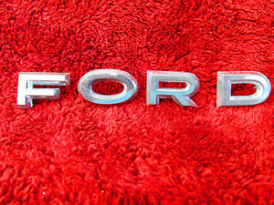 Details about 1961 1962 1963 Ford Falcon Futura Sprint FORD Hood Letters