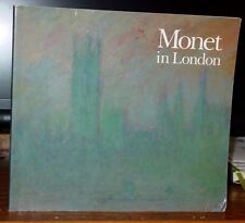 Monet in London, Catalog Exhibition High Museum of Art Atlanta 1988 Color Plates