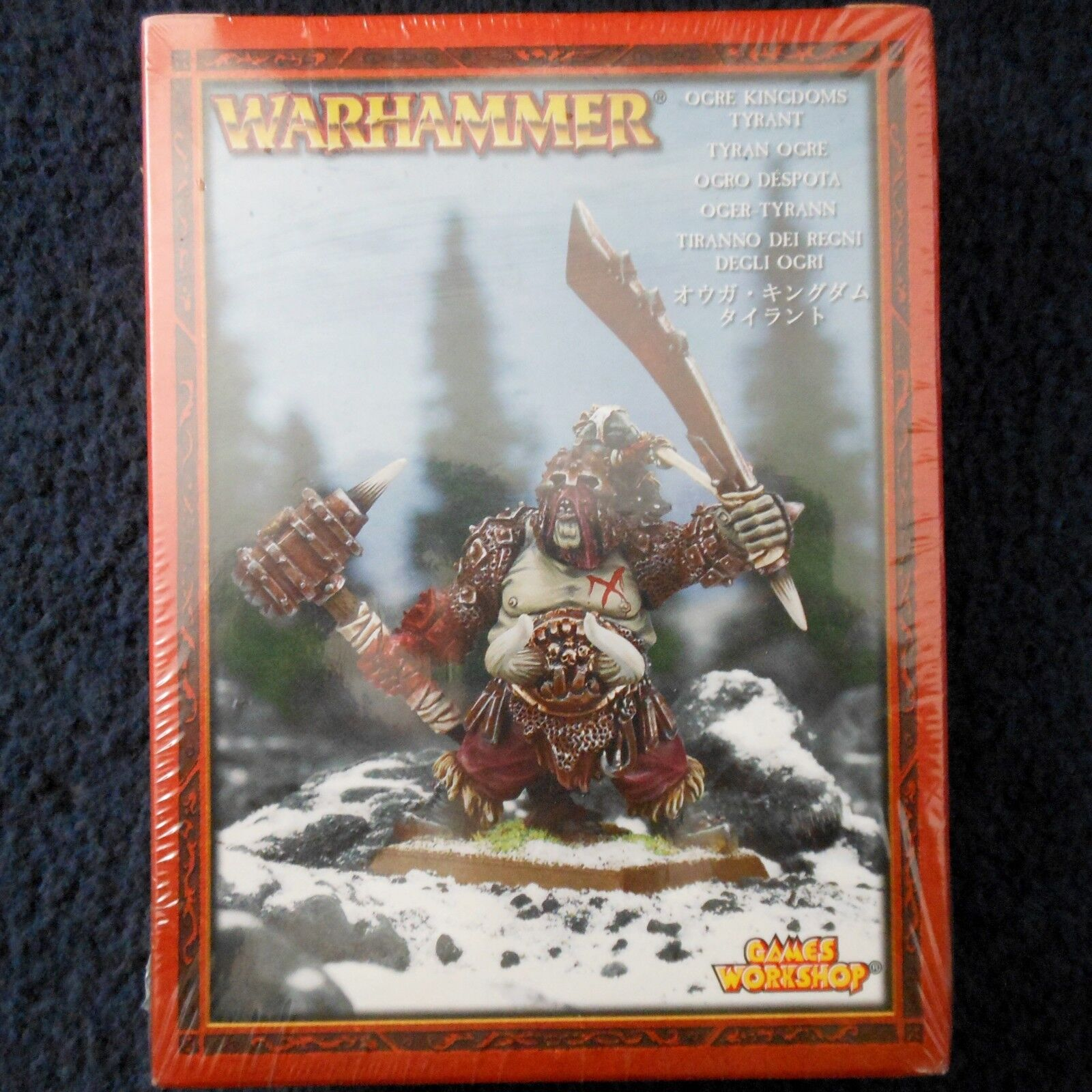 2005 reinos ogros tirano Warhammer army Juegos Workshop ogor líder Maneater MIB