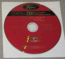 2005 2006 Lincoln LS Service Manual Set DVD