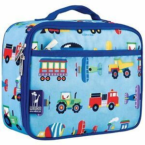 Image is loading Transport-Kids-Lunch-Bags-Transport-Boy-Insulated-Lunch- c9b5625351ac