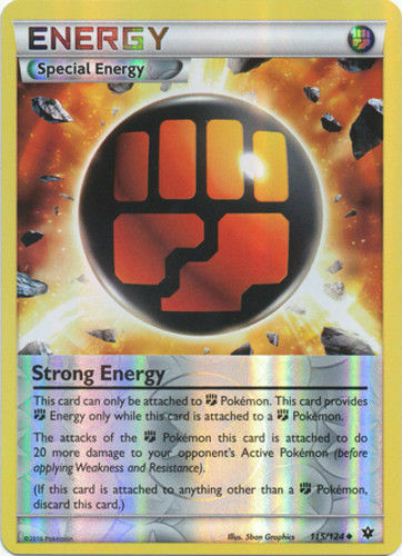 Pokemon STRONG ENERGY 115//124 REVERSE HOLOFOIL UNCOMMON CARD NM PLAYED