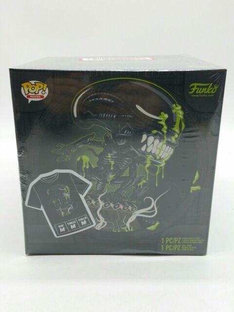Funko Pop Alien 40th Anniversary Xenomorph Pop /& Tee Size L and Small Available