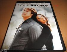 LOVE STORY dvd ALI MacGRAW ryan o'neal erich segal Tommy Lee Jones ray milland