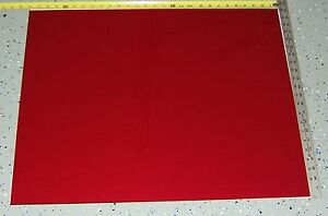 """1 Large 22"""" X 28"""" Sheet Red Rubylith Block Uv Rays - Nos Brillant"""