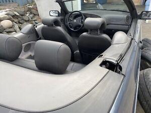 2000 Saab 9-3 leather