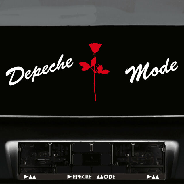 Rose 3 7//8in Sticker Tattoo Car Window Door Mirror Foil Violator Depeche Mode