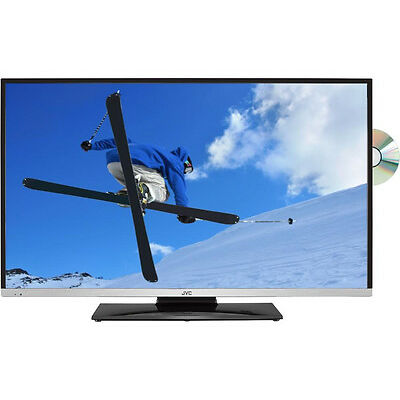 """JVC LT-32C655 Smart 32"""" LED TV with Built-in DVD Player HD Ready 720p Black"""