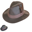 thumbnail 1 - British Waxed Cotton Trilby Leatherette Band Water Resistant ZH150