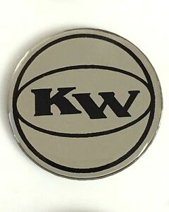 Key-West-Boats-1-1-2-034-Domed-Round-Decal-Black-amp-Silver-Single-Boat-Marine
