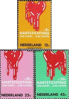 Und Ausland Weithin Vertraut. Niederlande 948-950 Postfrisch 1970 Herzerkrankungen Um Eine Hohe Bewunderung Zu Gewinnen Und Wird Im In kompl.ausg.