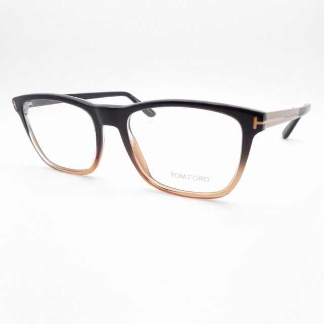 51ff757ded70f Tom Ford TF 5351 050 54 Brown Fade Brushed Gold New Authentic Eyeglass  Frames