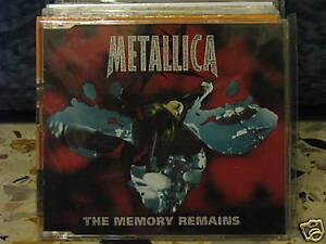 METALLICA-THE-MEMORY-REMAINS-cds-SIGILLATO-1997