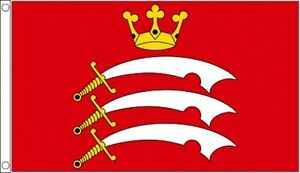 MIDDLESEX-FLAG-5-039-x-3-039-England-County-English-Counties-Flags