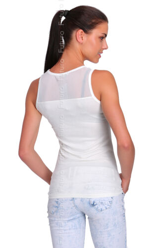 Casual Vest Top Storm Print Scoop Neck Sleeveless T-Shirt Tunic Sizes 8-12 FB210