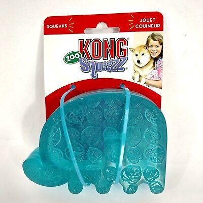Leuk Kong Zoo Squeezz Large Elephant Dog Pet Toy - Squeaker Een Plus Een Gratis