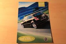 00519) Fiat Stilo Linea Sport + Class Prospekt 01/2003