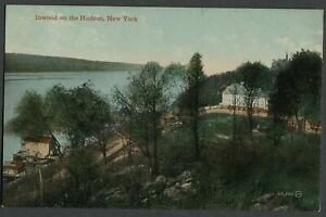 Inwood-on-the-Hudson-Manhattan-NY-c-1908-10-Postcard-BILLINGS-039-TRYON-HALL