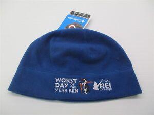 e962e581e35 new REI Hat Men s Size S Heat Lining Lightweight Blue Fleece Thermal ...