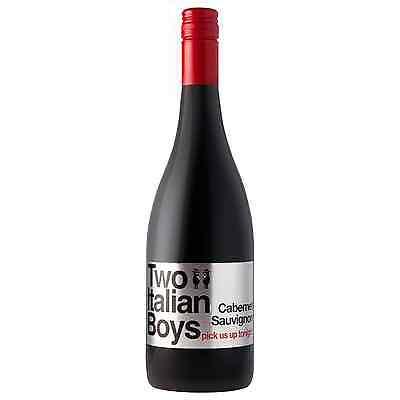 Two Italian Boys Cabernet Sauvignon 2010 case of 12 Dry Red Wine 750mL