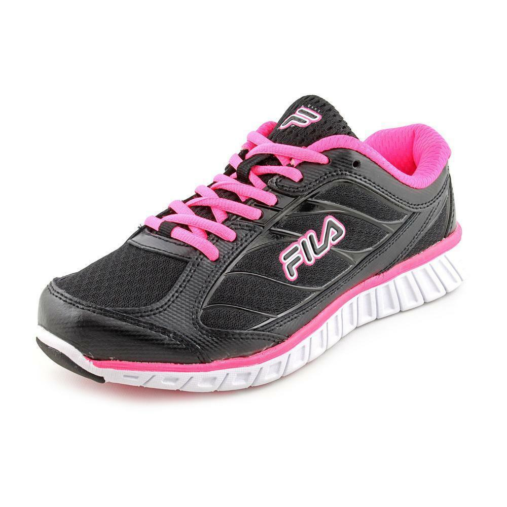 Fila Hyper Split Women Running Shoes Black/Pink LN11 18 Wild casual shoes