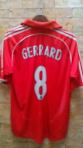 best sneakers cb4ab d6efa Details about Liverpool Jersey #8 Gerrard Replica local made