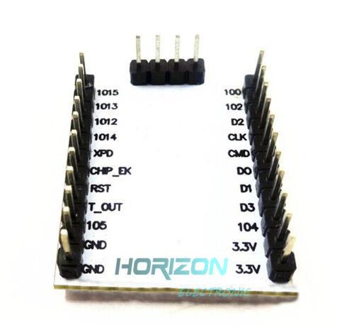 2PCS ESP8266 Serial Port Module Send Receive IO Lead Out WIFI Wireless ESP-201