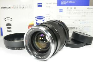 Carl-Zeiss-Distagon-T-35mm-F2-ZF-2-Lens-for-Nikon-in-Boxed-from-Japan-a1288