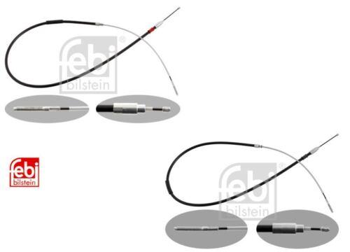 Frein à main câbles Set de 2 BMW E46 Série 3 Febi BMW 3441165020//34411165021