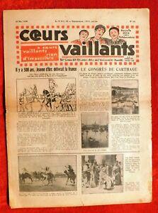 Cuori-Vaillants-1930-N-25-Jeanne-Arco