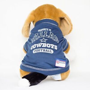 d2bbc4d49d8 Dallas Cowboys Dog Jersey NFL Football Officially Licensed Pet Product