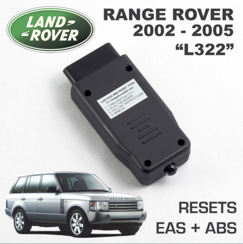 Air Suspension kicker fault clear activate Range Rover L322 EAS ABS RESET tool